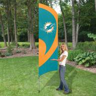 Miami Dolphins NFL Tall Team Flag