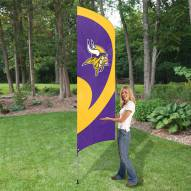 Minnesota Vikings NFL Tall Team Flag