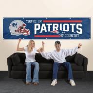 New England Patriots NFL 8' Banner