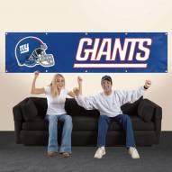 New York Giants NFL 8' Banner