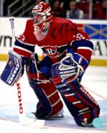 Patrick Roy Montreal Canadiens Signed Habs Goalie 8x10 Photo