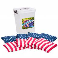 Triumph Patriotic Bean Bags with Tub Container - 8 Pack