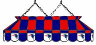 "New England Patriots NFL Team 40"" Rectangular Stained Glass Shade"