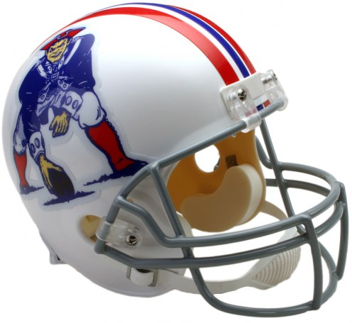 Riddell New England Patriots 1965-81 Deluxe Collectible Throwback NFL Football Helmet