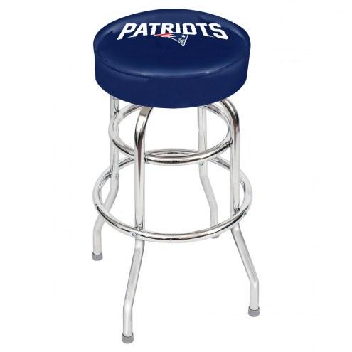 New England Patriots NFL Team Bar Stool