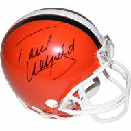 Paul Warfield Signed Cleveland Browns Throwback Mini Helmet