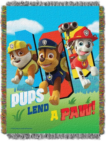 Paw Patrol Lend A Paw Throw Blanket