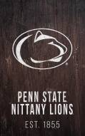 "Penn State Nittany Lions 11"" x 19"" Laurel Wreath Sign"