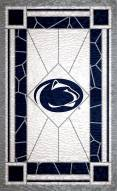 "Penn State Nittany Lions 11"" x 19"" Stained Glass Sign"