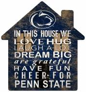 "Penn State Nittany Lions 12"" House Sign"