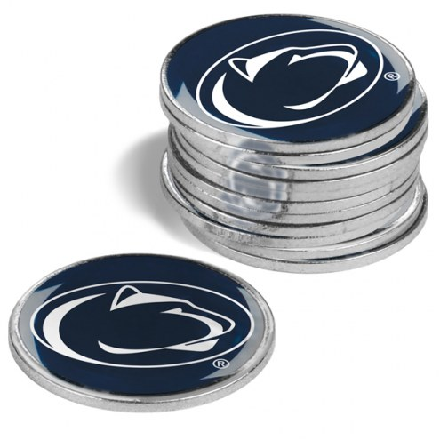 Penn State Nittany Lions 12-Pack Golf Ball Markers