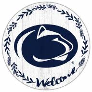 "Penn State Nittany Lions 12"" Welcome Circle Sign"