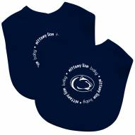 Penn State Nittany Lions 2-Pack Baby Bibs