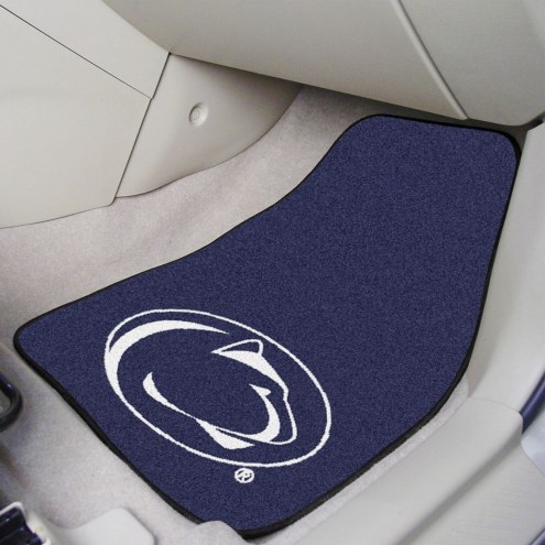 Penn State Nittany Lions 2-Piece Carpet Car Mats