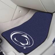 Penn State Nittany Lions 2-Piece Carpet Car Mats