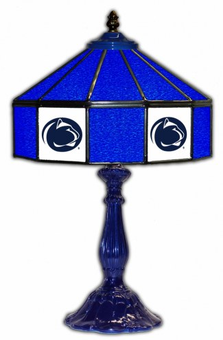 """Penn State Nittany Lions 21"""" Glass Table Lamp"""