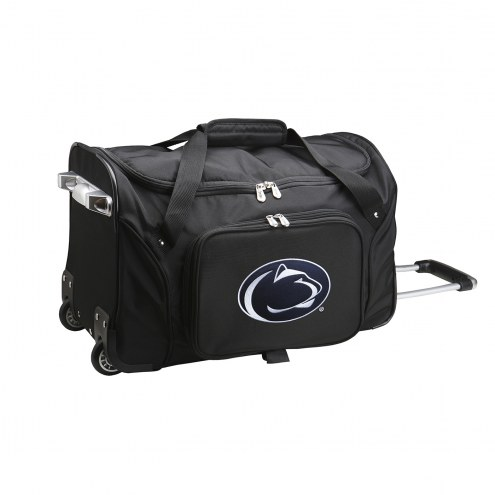 """Penn State Nittany Lions 22"""" Rolling Duffle Bag"""