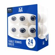 Penn State Nittany Lions 24 Count Ping Pong Balls