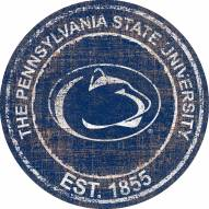 "Penn State Nittany Lions 24"" Heritage Logo Round Sign"