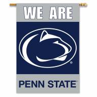 """Penn State Nittany Lions 28"""" x 40"""" We Are Two-Sided Banner"""