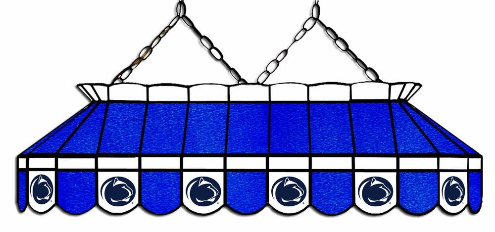 Penn State Nittany Lions 40 Quot Stained Glass Pool Table Light