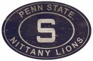 "Penn State Nittany Lions 46"" Heritage Logo Oval Sign"