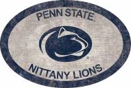 "Penn State Nittany Lions 46"" Team Color Oval Sign"