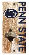 "Penn State Nittany Lions 6"" x 12"" Distressed Bottle Opener"