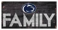 "Penn State Nittany Lions 6"" x 12"" Family Sign"
