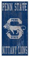 "Penn State Nittany Lions 6"" x 12"" Heritage Logo Sign"