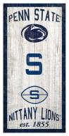 "Penn State Nittany Lions 6"" x 12"" Heritage Sign"