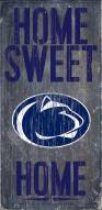 "Penn State Nittany Lions 6"" x 12"" Home Sweet Home Sign"