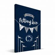 """Penn State Nittany Lions 8"""" x 12"""" Little Man Canvas Print"""