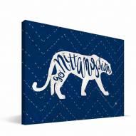 "Penn State Nittany Lions 8"" x 12"" Mascot Canvas Print"