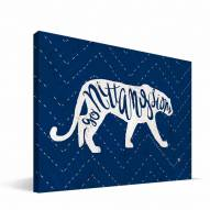 "Penn State Nittany Lions 8"" x 12"" Mascot Canvas Print"