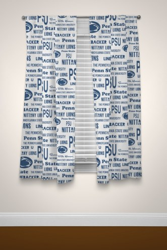 Penn State Nittany Lions Anthem Curtains