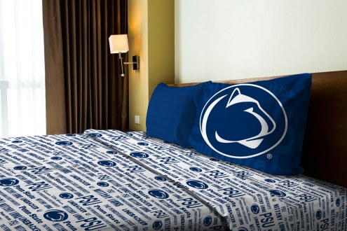 Penn State Nittany Lions Anthem Twin Bed Sheets