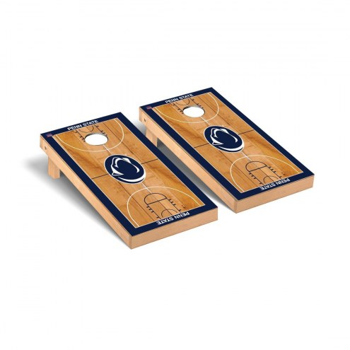 Penn State Nittany Lions Basketball Court Cornhole Game Set