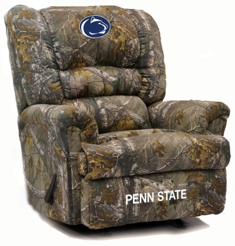 Penn State Nittany Lions Big Daddy Camo Recliner