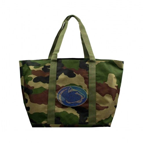 Penn State Nittany Lions Camo Tote Bag