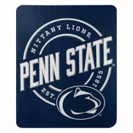 Penn State Nittany Lions Campaign Fleece Throw Blanket
