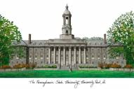 Penn State Nittany Lions Campus Images Lithograph