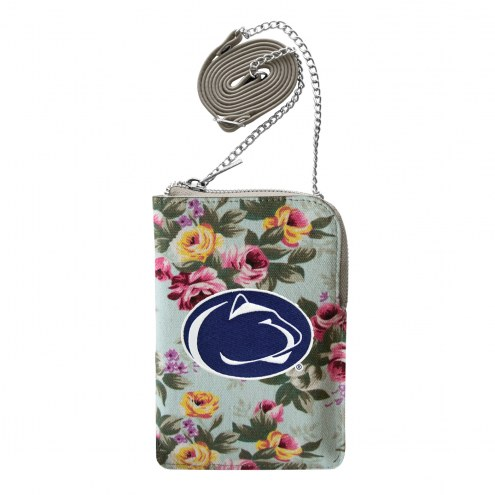 Penn State Nittany Lions Canvas Floral Smart Purse