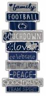 Penn State Nittany Lions Celebrations Stack Sign