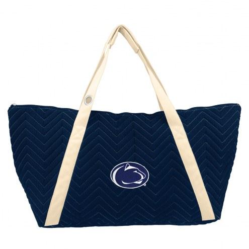 Penn State Nittany Lions Chevron Stitch Weekender Bag