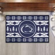 Penn State Nittany Lions Christmas Sweater Starter Rug