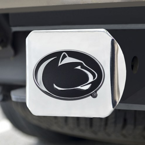 Penn State Nittany Lions Chrome Metal Hitch Cover