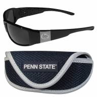Penn State Nittany Lions Chrome Wrap Sunglasses & Sports Case