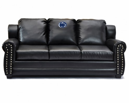 Penn State Nittany Lions Coach Leather Sofa
