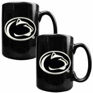 Penn State Nittany Lions College 2-Piece Ceramic Coffee Mug Set